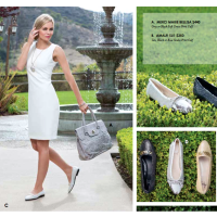 white-shift-dress-silver-loafers